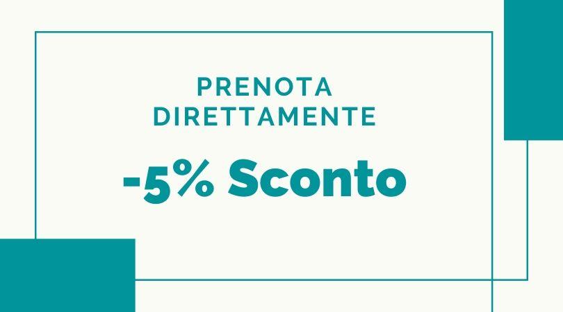Tariffa 5% di Sconto